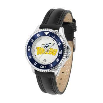University Of Toledo Rockets Ladies Watch - Competitor Poly/Leather Band