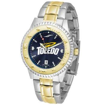 University Of Toledo Rockets Mens Watch - Competitor Anochrome Two-Tone