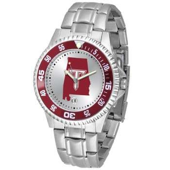 Troy University Trojans Mens Watch - Competitor Steel Band