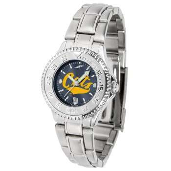 Montana State University Bobcats Ladies Watch - Competitor Anochrome Steel Band