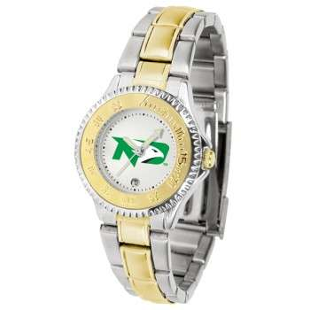 University Of North Dakota Fighting Sioux Ladies Watch - Competitor Two-Tone