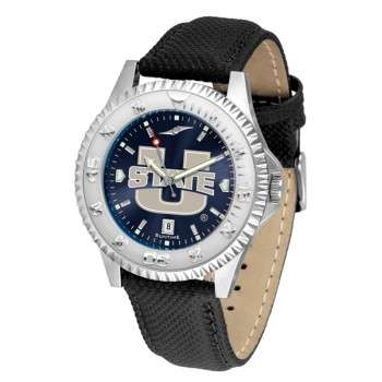 Utah State University Aggies Mens Watch - Competitor Anochrome Poly/Leather Band