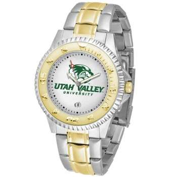 Utah Valley University Wolverines Mens Watch - Competitor Two-Tone