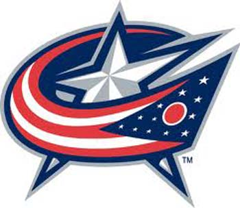Columbus Blue Jackets Logo Watches
