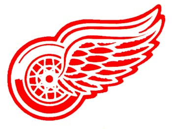 Detroit Red Wings Logo Watches